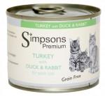 【Simpsons Premium】貓罐頭(雞+鴨+兔) 200g