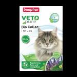 【Beaphar】防蚊、蜱、虱3合1頸帶 Veto Pure Bio Collar (貓用)