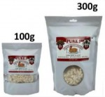 【PURE! Freeze Dried 100% Fresh Meat】貓狗零食 (凍乾100%純雞肉粒) - 100g/300g